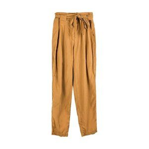 Max Jeans Soft Tie Waist Pants Camel Trousers Work